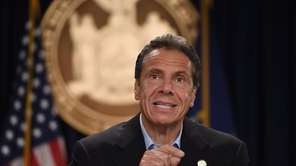 Gov. Andrew M. Cuomo said Sunday that New