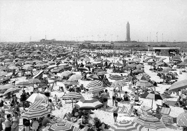 A summer day on Jones Beach. (July 28,1940)