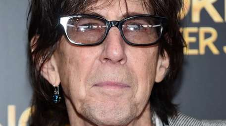 Ric Ocasek, lead singer for The Cars, at