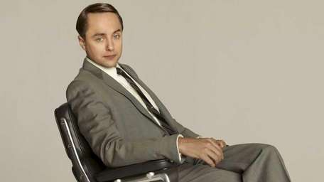 Pete Campbell, played by Vincent Kartheiser, in a