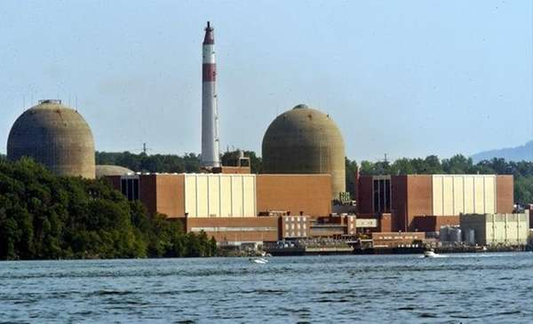 The Indian Point nuclear power plant in Buchanan.