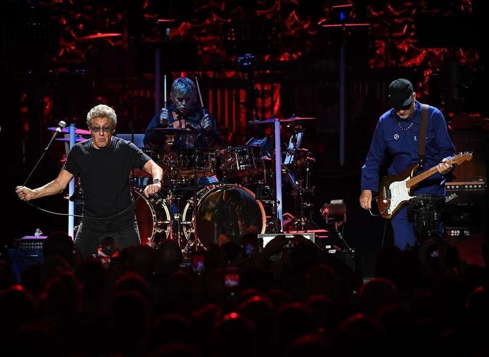 The Who performs at the Northwell Theater at