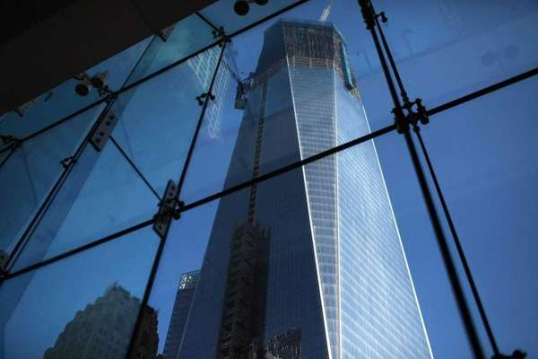 Office space in One World Trade Center will