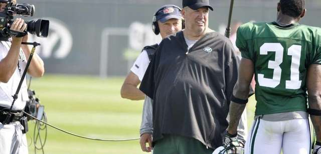 New York Jets head coach Rex Ryan talks