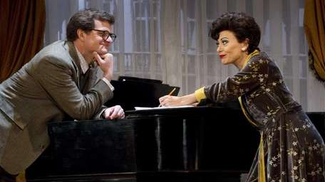 Michael Cumpsty and Tracie Bennett in