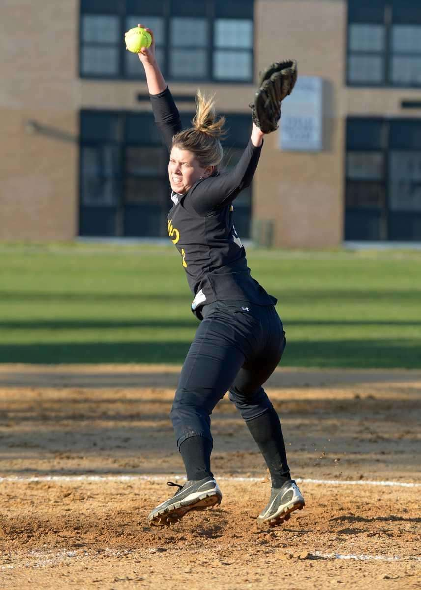 Sayville's Merissa Selts pitched 10 strong innings for