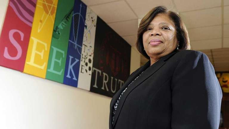 Lorna Lewis is the superintendent of Plainview-Old Bethpage