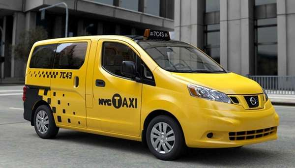 The Nissan NV200 van was selected from among