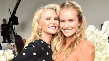 Models Christie Brinkley and daughter Sailor Brinkley-Cook attend