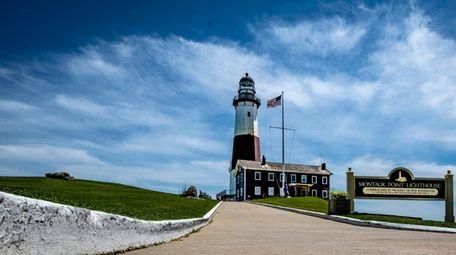 The Montauk Lighthouse in Montauk Friday June 14,