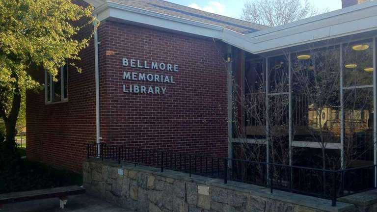 The Bellmore Memorial Library, at 2288 Bedford Ave.,