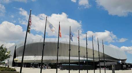 Nassau Veterans Memorial Coliseum in Uniondale.