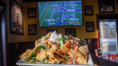 Nachos at the Green Turtle Sports Bar and