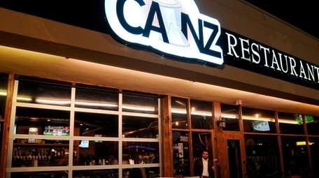 Canz Restaurant on Old Country Road in Westbury.