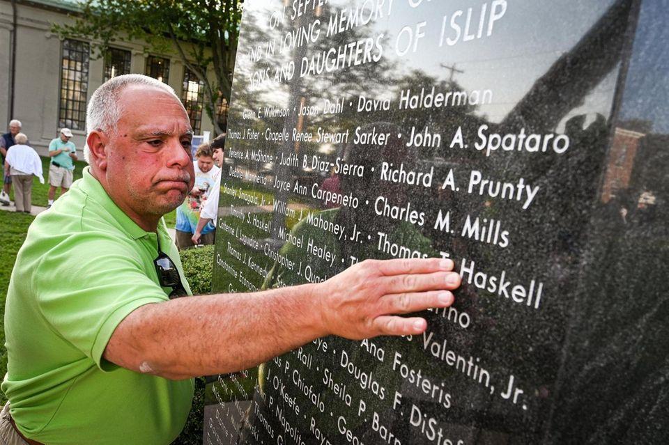 Jim Guariglia, of Islip, remembers friends Timothy and
