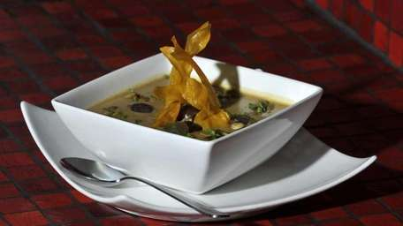 THE PHOENIX, Seaford Spicy peanut soup, made with