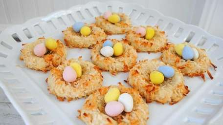 For Easter, balls of cookie dough can be