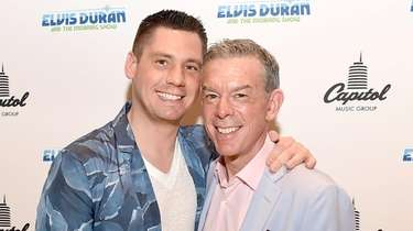Elvis Duran (right) and his partner Alex