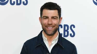 Max Greenfield attends the 2019 CBS Upfront on