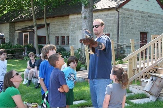 The Nature Exploration outdoor classroom and Phil Dejana