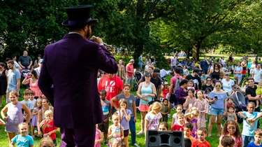 Last year's KidsFest at Old Westbury Gardens.