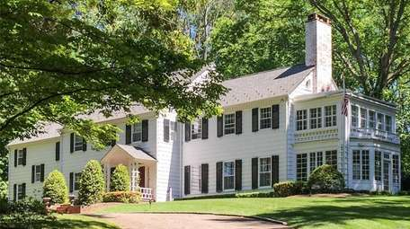 This Oyster Bay Cove home is listed for
