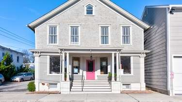 This Greenport building is listed for $1.289 million.