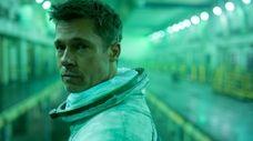 "Brad Pitt as Roy McBride in ""Ad Astra."""