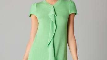 What: RED Valentino knit ruffle dress Was: $650