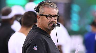 Jets defensive coordinator Gregg Williams, shown here during