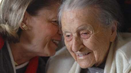 Dr. Leila Denmark, the world's oldest practicing physician