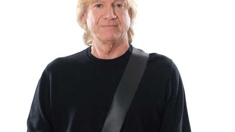 Undated photo of Justin Hayward of the Moody
