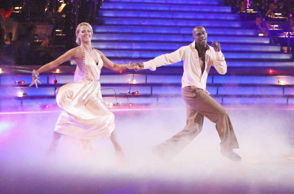 Donald Driver and his partner Peta Murgatroyd on