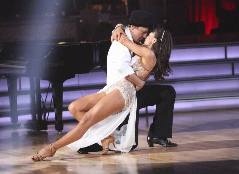Gavin DeGraw and his partner Karina Smirnoff are
