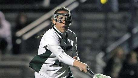 Amelia Taylor scored for Seaford. (April 4, 2012)