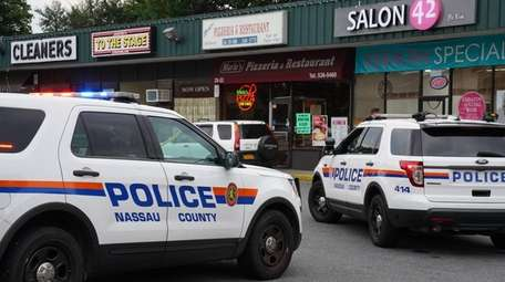 Nassau police on Monday investigate an Oceanside stabbing