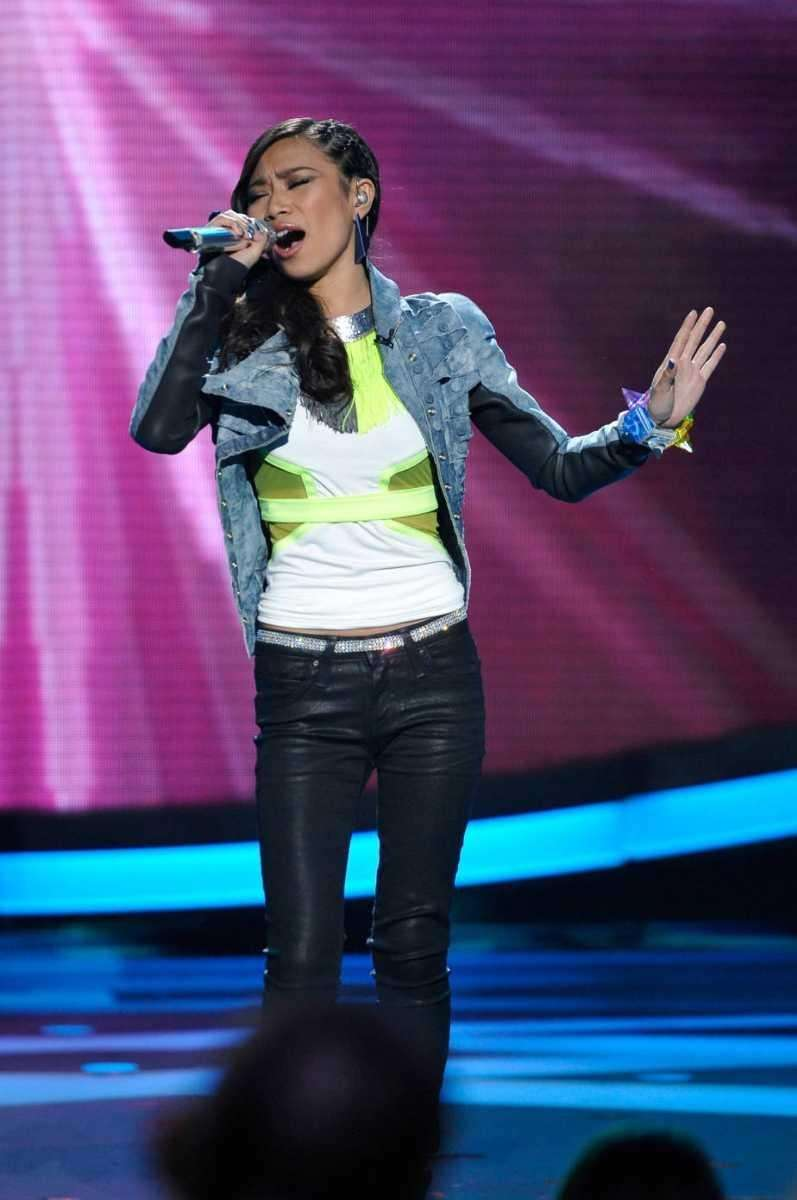 Jessica Sanchez took on the great Whitney Houston