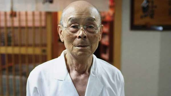 Eighty-five-year-old sushi master Jiro Ono is featured in