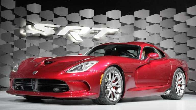 The SRT Viper is unveiled at the New