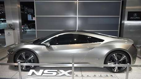 The 2013 Acura NSX reportedly has a 3.5-liter