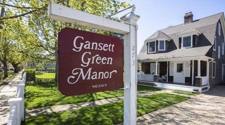 Gansett Green Manor in Amagansett.