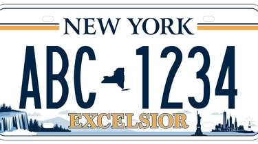 New York's new license plate will feature Niagara