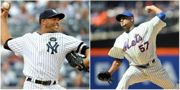 Left: In this Sept. 3, 2010 Yankees relief