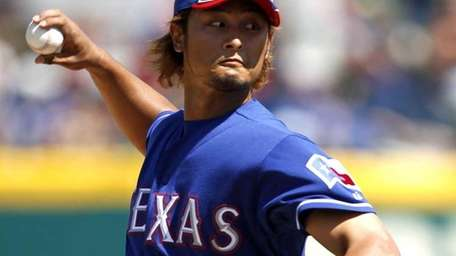 Texas Rangers starting pitcher Yu Darvish, of Japan,