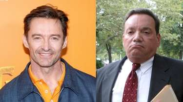 Actor Hugh Jackman, left, plays disgraced Roslyn schools