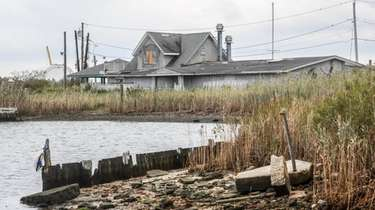 Suffolk County officials say the old Violet's Cove