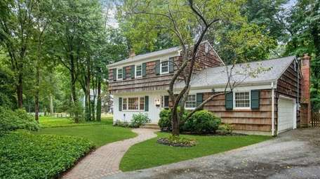 This house in Port Jefferson is listed for