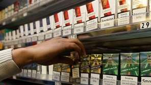 British lawmakers have banned displaying cigarettes. The ban
