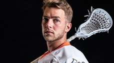 New York Riptide forward Connor Kelly shows off