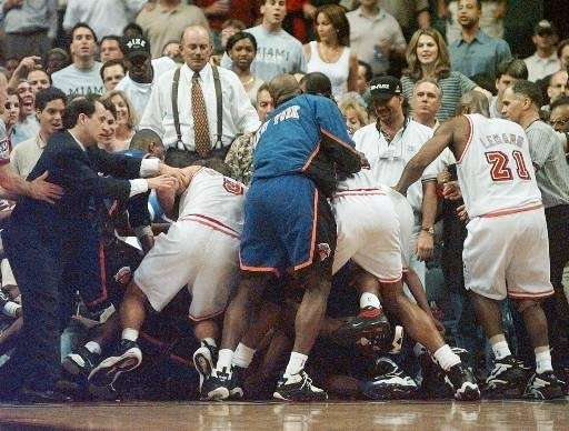 1996-97 SEASON Record: 57-25 The Knicks signed free-agent
